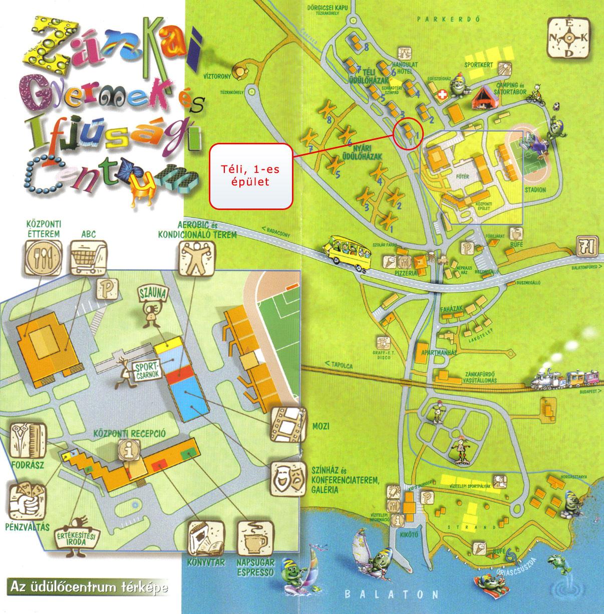 zánka térkép WagonR+ Klub zánka térkép